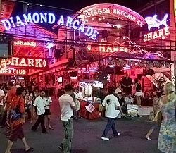 Nightlife in der Walkingstreet Pattaya