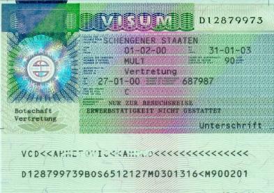 thailändische freundin - visum deutschland, Einladung